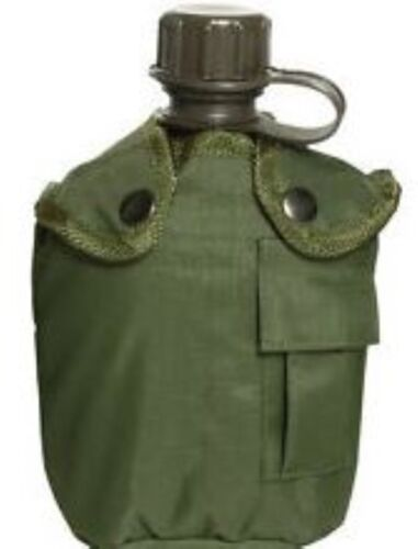 1 QT GI Alice Water Bottle Drink Canteen Army Green Cadet Scout Camp Hiking