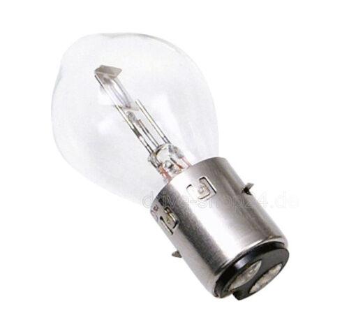 Bilux 12V 35//35W Ba20d Glühlampe Lampe Glühbirne für Moped Motorrad Chinaroller