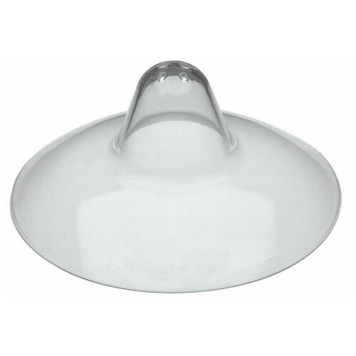 2 x Silicone Nipple Shields Protectors Shield Breast Feeding for Baby .*