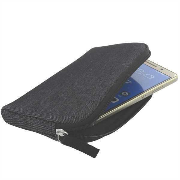 XiRRiX Soft Tasche Case Hülle mit Reißverschluss für SamsungGalaxy J2 (2016)