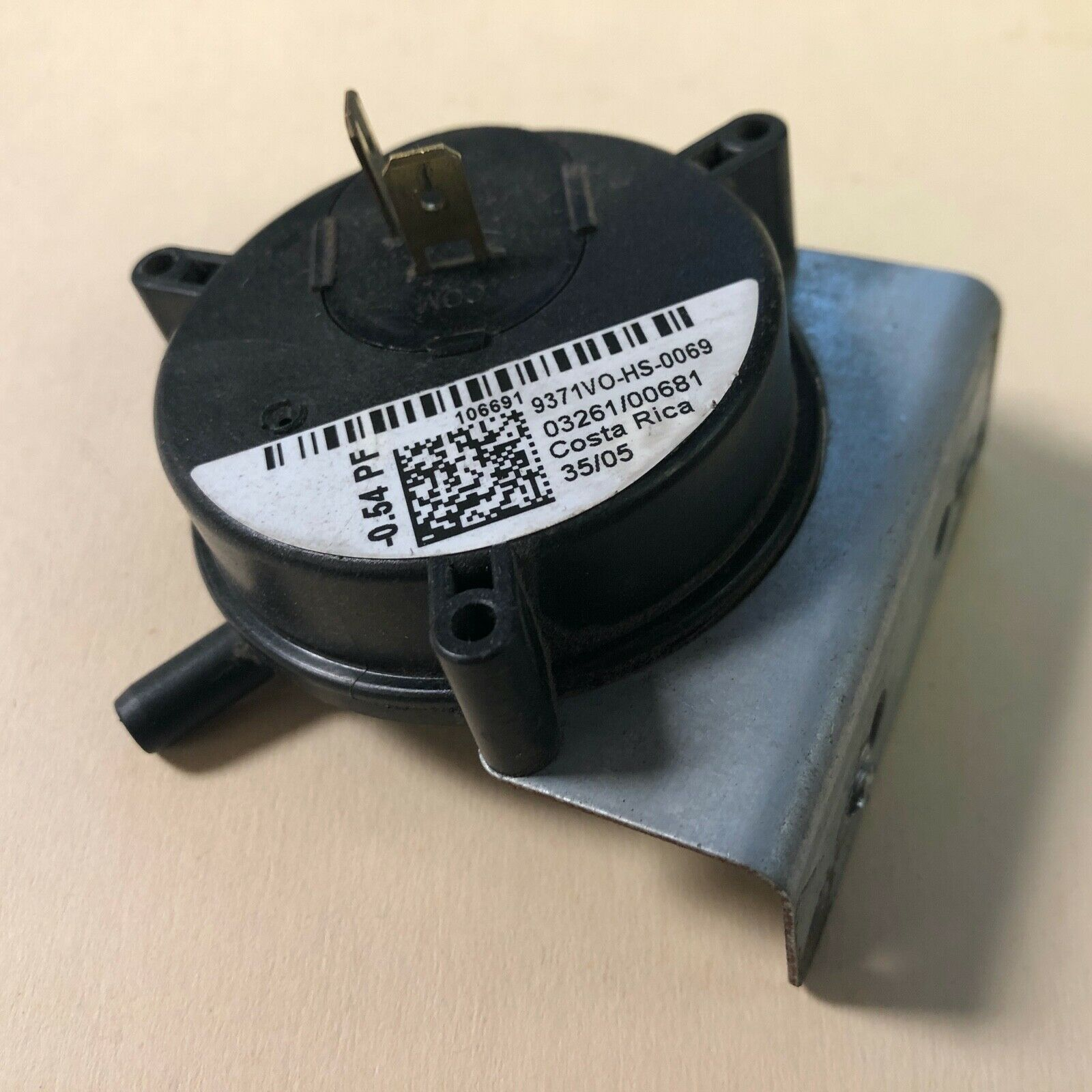 632491 Nordyne Furnace Vent Air Pressure Switch OEM Replacement