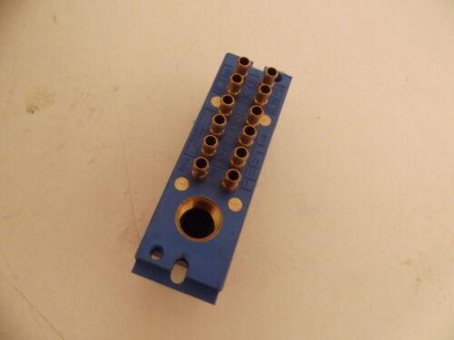 Festo 8762 bloque múltiple fr-12-pk-4 B