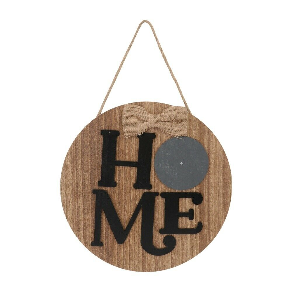 1 Pc Letter Board Decor Wood Board Decor Stylish Wall Plate for Home Door Wall