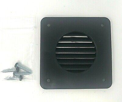 RV//Camper//Trailer Battery Box Vent Black NEW