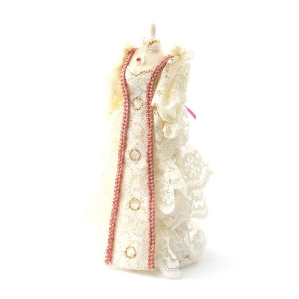Dolls House 4739 Abito Da Sposa Su Mannequin 1:12 Per Casa Delle Bambole Nuovo! #