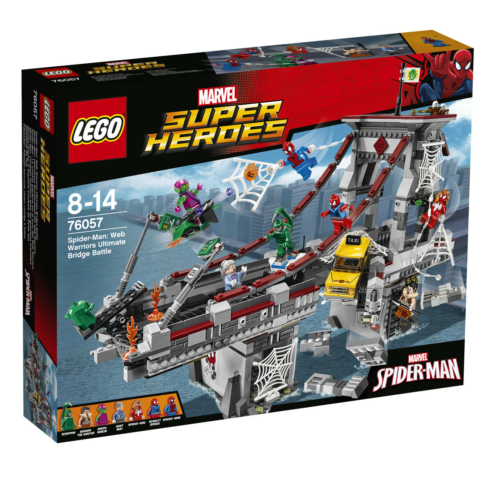 LEGO ® Marvel Super Heroes 76057 Ultime ponts duel des Web-Warriors Neuf