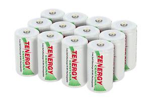 Tenergy-8000mAh-D-Size-Centura-Low-Self-Discharge-NiMH-Rechargeable-Battey-D-Lot