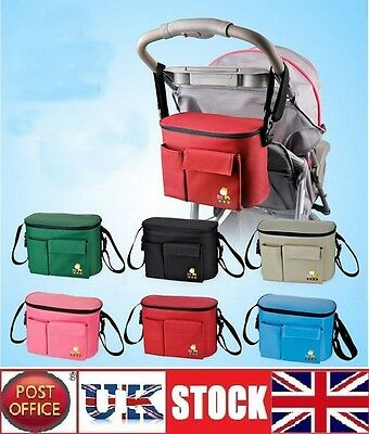 Stroller Baby Nappy Changing Bag Mummy Multi Function Diaper Bag Colours
