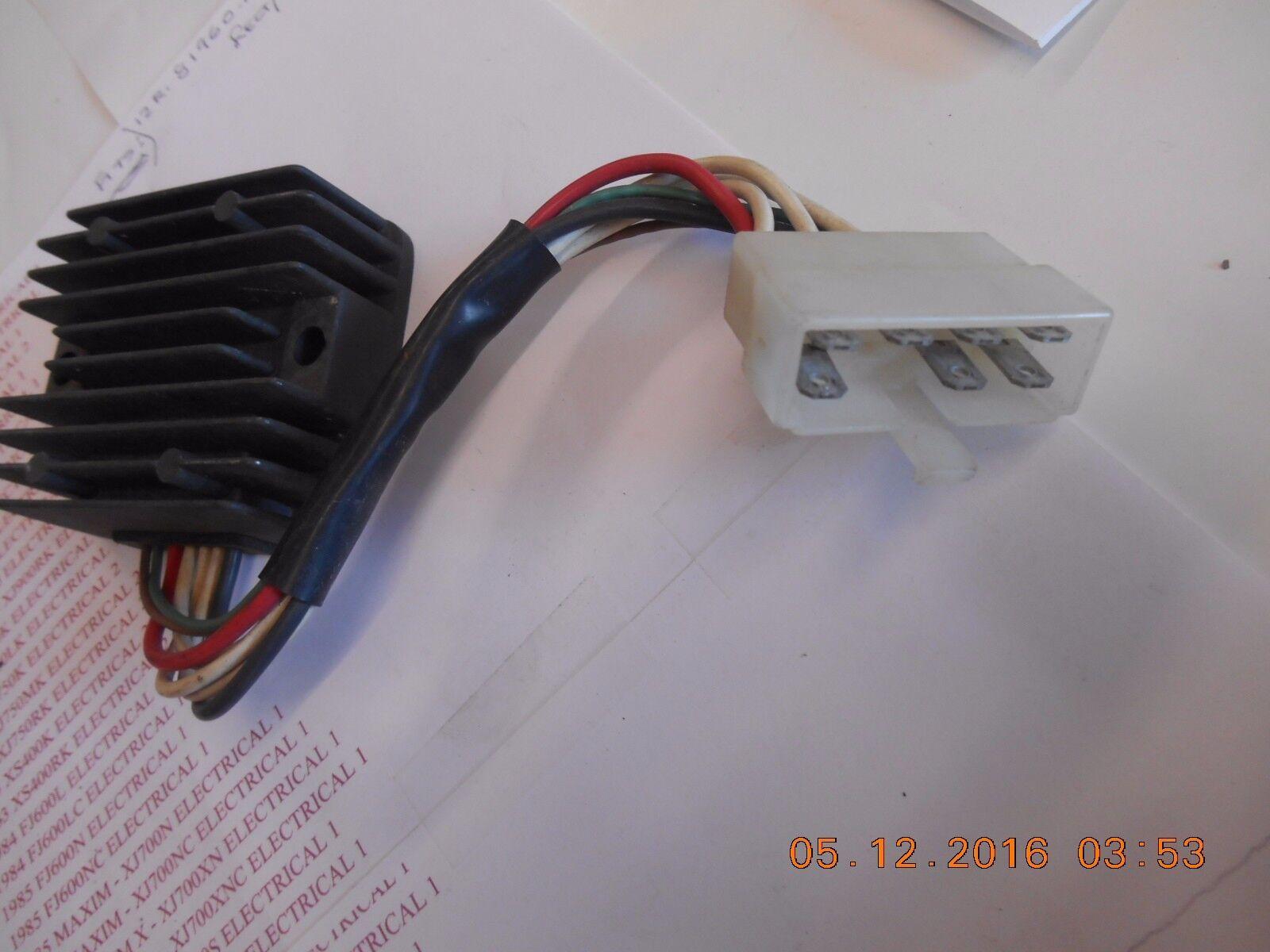1981 Yamaha Xj650 Jx 650 Maxim Oem Rectifier Regulator Voltage Unit Wiring Ignition Ebay