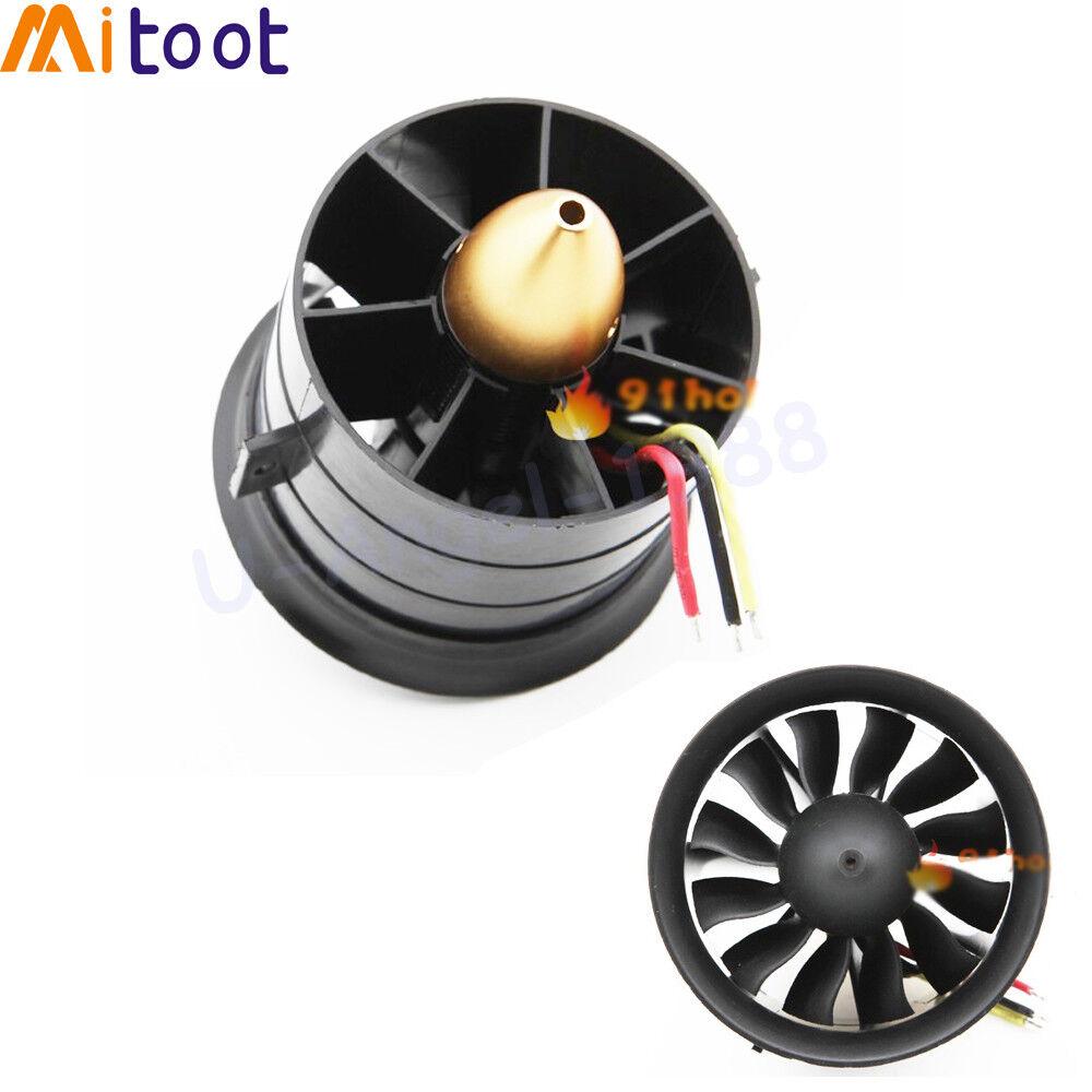 64mm 70mm 90mm 120mm 12 klingen abgeleitete fan system eef fr das flugzeug mit motor