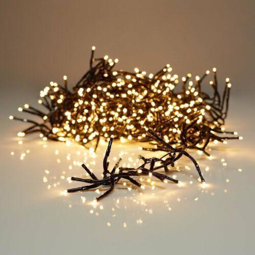 Deco luminaire éclairage épis Guirlande Cluster 1152 DEL DEL warmweiss