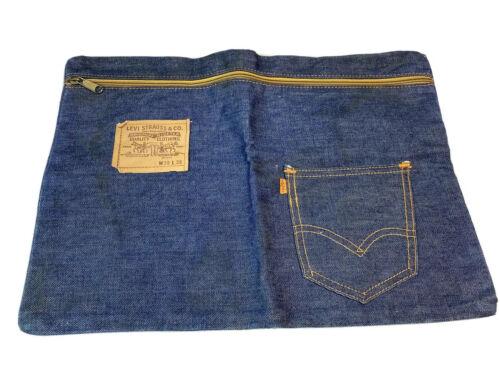 Vintage Levis Bag Pouch With Orange Label Tag