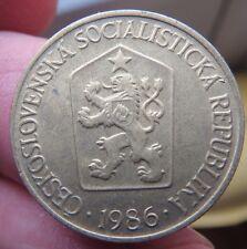 1986 CECOSLOVACCHIA 1 Corone