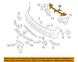 2003 nissan pathfinder front bumper diagram wiring 2003 Nissan Pathfinder Front Bumper Diagram nissan frontier bumpers amazon com