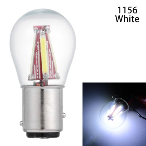 4 COB LED Filament 1157 BAY15D 21//5W 1156 BA15S Car Light Bulb New 2019