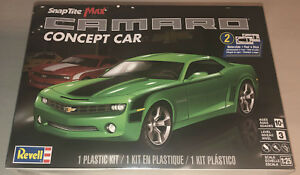 Revell-Chevy-Camaro-Concept-Car-1-25-scale-Snaptite-Max-model-car-kit-new-1527