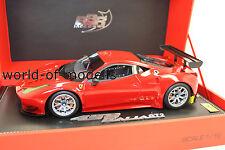 BBR p1874 FERRARI 458 GT 2 2013 ROSSO N. 19 di 40 pezzi 1:18 NUOVO IN SCATOLA ORIGINALE