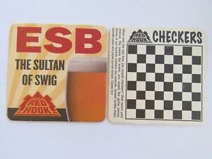 Bière Breweriana dessous de Verre ~ ~ Redhook ESB le Sultan Swig ~ ~ Echiquier riYE99XE-09102242-730170235