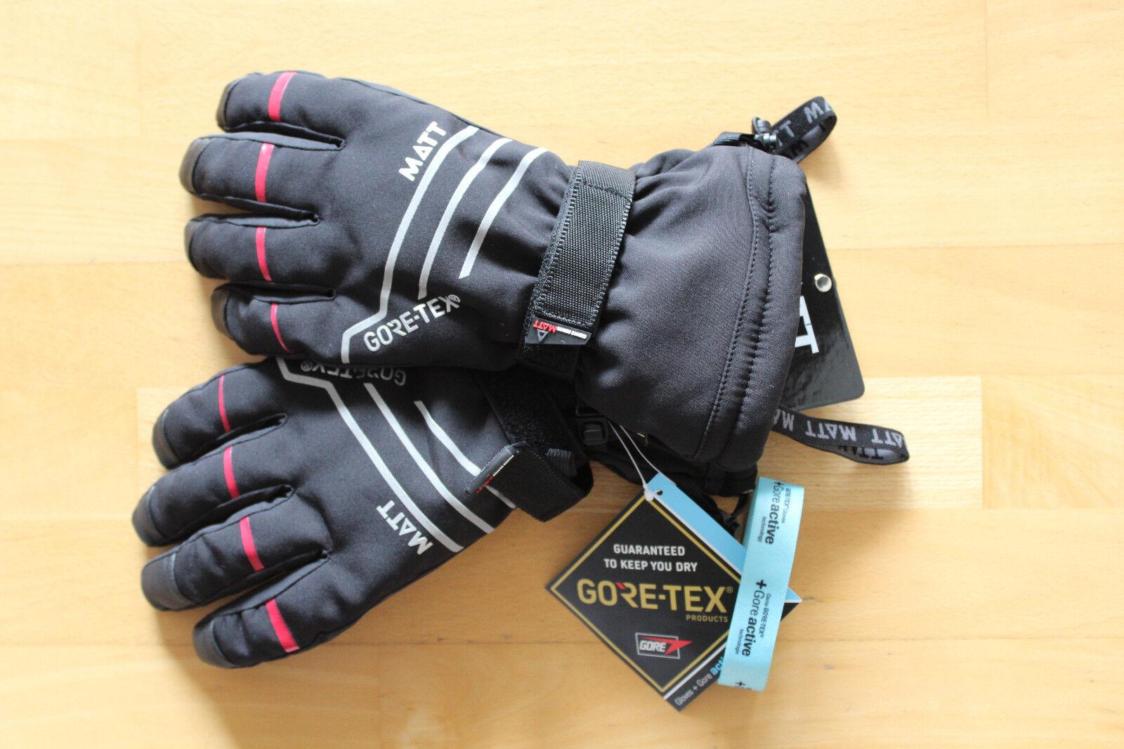 MATT GORE-TEX Ski Handschuhe NEW NEW NEW ROCCO ACTIVE GORE GLOVES Fingerhandschuhe fdec9a