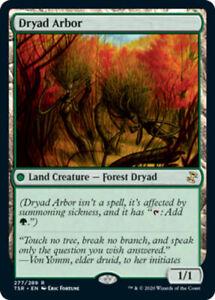 Dryad Arbor x1 Magic the Gathering 1x Time Spiral Remastered mtg card