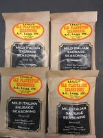 Mild Italian Sausage Seasoning For 100 Of Meat Venison Pork Beef Link Ac Leggs