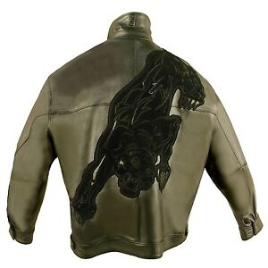 how to orders pretty cheap real deal Details about Pelle Pelle, PANTHER, LEATHER JACKET, 2025B, LIMITED EDITION