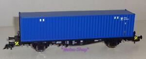 Fleischmann-631781-W1-H0-Containertragwagen-mit-blauem-Container-367