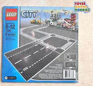 New Lego Straight Amp Crossroad Road Base Plates 7280