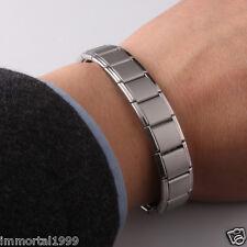 Bracelet Titanium 80 Germanium,Nano énergie magnétique,Anti-fatigue Anti-stress