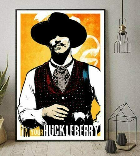 Doc Holliday Tombstone I/'m Your Huckleberry Portrait No Frame