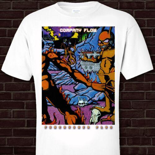 COMPANY FLOW tshirt s-3XL Funcrusher Plus NYC Underground Hip Hop El-P