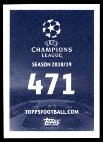 Ryan Donk Galatasaray AS No Topps Champions League 2018//19 471