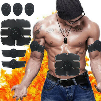 Ultimate Abs Slim Muscle Stimulator Abdominal Training Toning Belt Trimmer UK