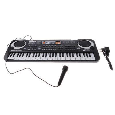 61 touches électrique orgue clavier piano mini microhone set enfants jouet