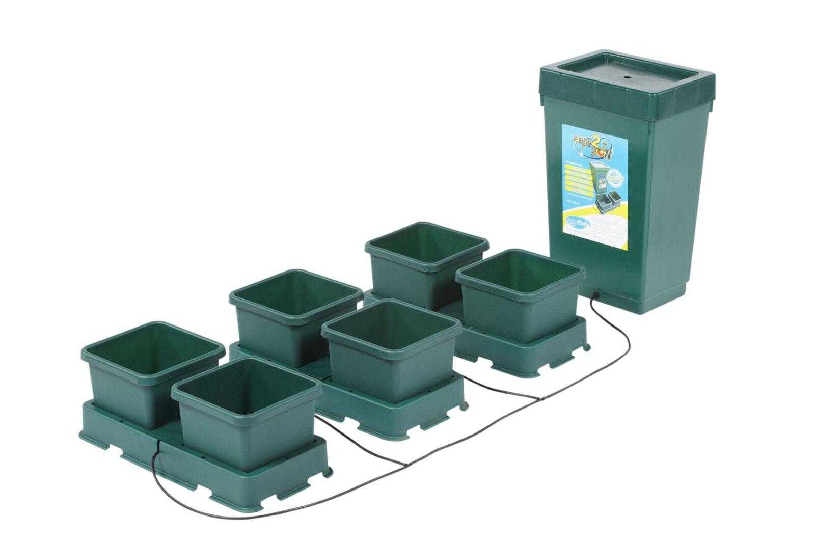 AUTOPOT AUTOPOT AUTOPOT Easy2grow 6POT System Automatische Bewässerung Hydrokultur Grow e1e497