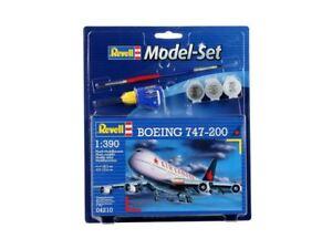 Revell-Boeing-747-200-Modello-Set-1-3-90-Scala-64210