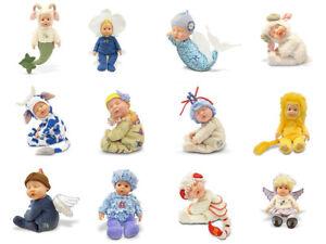 Anne Geddes Poupées Sélection 12 Zodiac Collection Haricot Garnis 9''