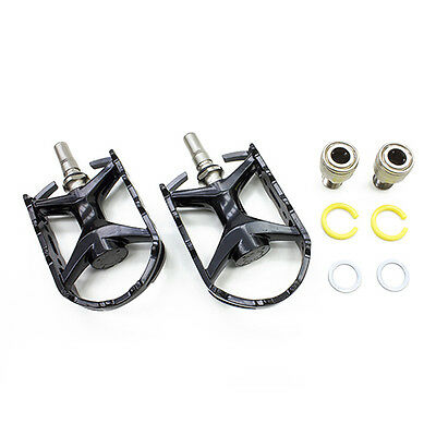"""Folding Bike Bicycle Cycling Pedals MKS Cygma Ezy 9//16/"""" Alloy Road Silver"""