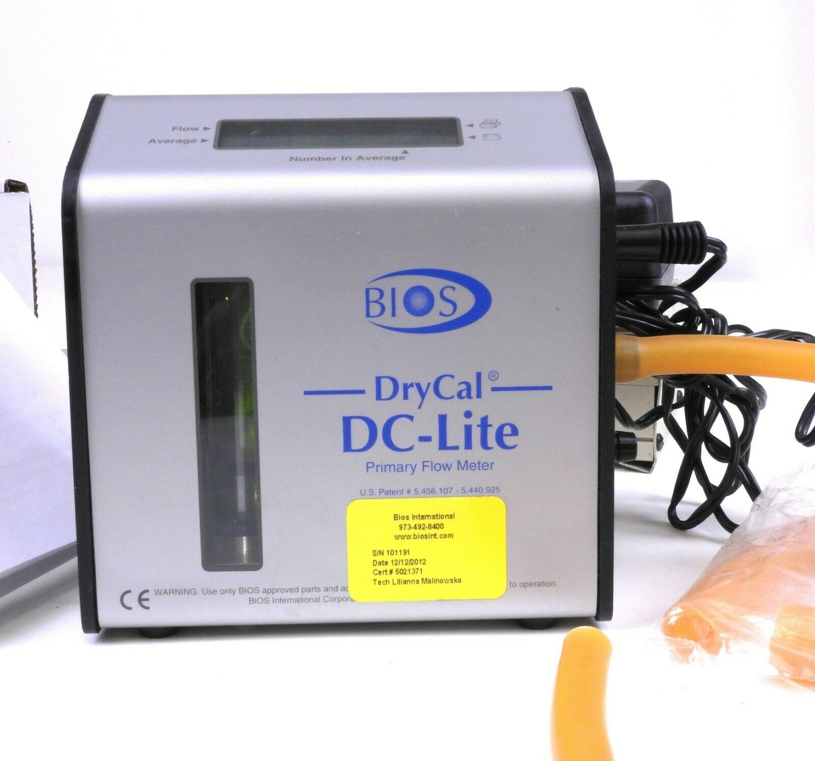 Bios DryCal DC-Lite Model DCL-ML