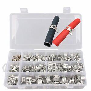 Colliers-de-serrage-collier-de-serrage-en-acier-reglable-160-Pieces