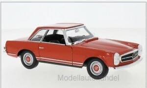 Pagode  rot  1963-1:24 WELLY  *NEW* W113 Mercedes 230 SL