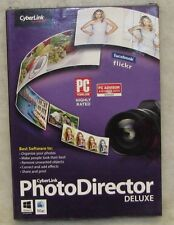 NEW!!! Cyberlink Photo Director Version 4 Deluxe Photography Software