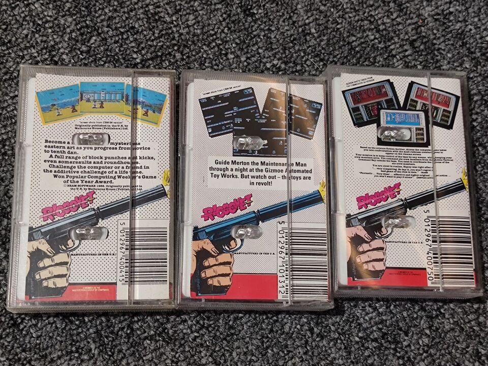 Game Bundle #5, Commodore 64
