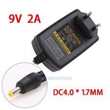 EU-Stecker Netzteil Netzadapter AC100-240V auf/zu DC 9V 2A Adapter 4.0mmx1.7mm