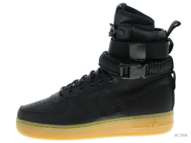 NIKE SF AF1 859202-009 black black-gum light brown Size 9