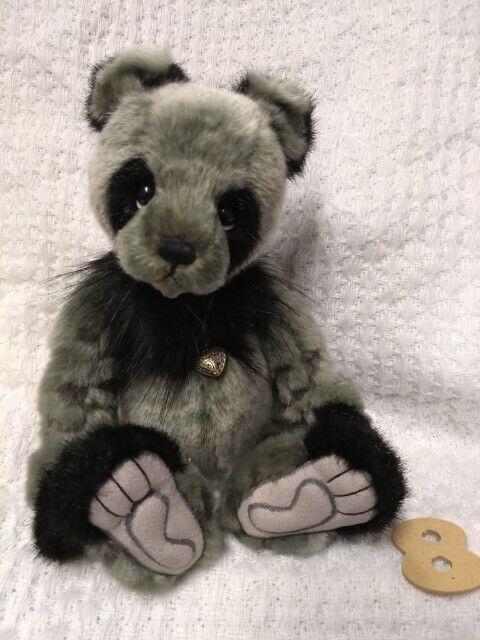 DENNY da Charlie Bears-Orso carino NUOVO con etichetta + Gratis Borsa-RIVENDITORE UFFICIALE-foto  8