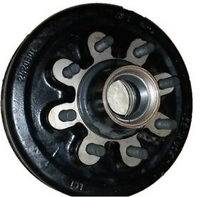 8000 12 x 2 brake drum 8k hub trailer axle hub 58 lug 2420801 lci image is loading 8000 12 x 2 brake drum 8k hub publicscrutiny Images