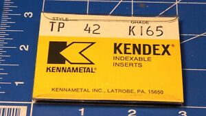 Kennametal Kendex Insert  AEC 2422 K42 New Old Stock