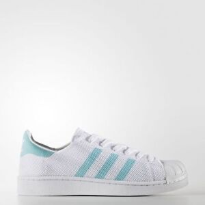 NEW WOMENS ADIDAS SUPERSTAR SNEAKERS BA7137-SHOES-SIZE 8