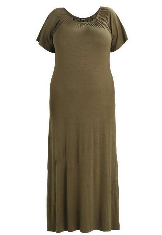 Ein neues, sehr schönes Kleid: Evans GYPSY DRESS - Maxikleid - khaki! Neu Größe